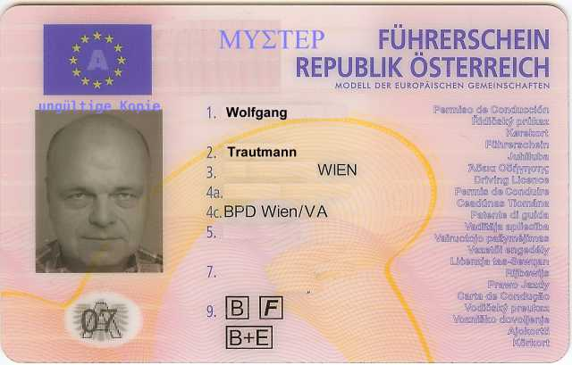 Der Neue Führerschein Im Scheckkartenformat